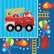 Fire Engine Fun Lunch Napkins 16ct