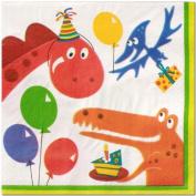 Dinosaur Birthday Lunch Napkins