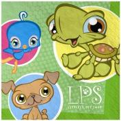 Amscan 147883 Littlest Pet Shop Napkins