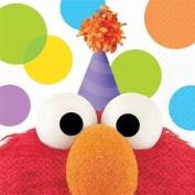 Elmo's Party Beverage Napkins