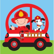 Fire Rescue Pals Lunch Napkins 16ct