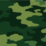 Amscan International Camouflage Luncheon Napkins