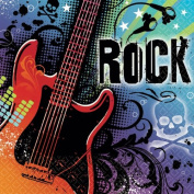 Rock Star Beverage Napkin