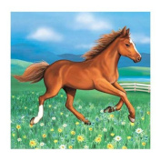 My Horse Pony Birthday Party Paper Luncheon Napkins