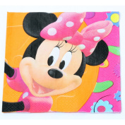 Minnie Mouse Lunch Napkins (16 count) [Toy] [Toy]