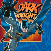 Hallmark 222566 Batman Heroes and Villains Lunch Napkins