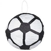 Unique Industries Inc. 22056 Soccer Ball Pinata - Paper and Ribbon
