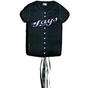Costumes 204115 Toronto Blue Jays Baseball- Shirt Shaped Pull-String Pinata