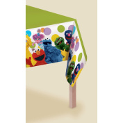Sesame Street Party - Plastic Table Cover [Toy] [Toy]