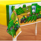Johnny Tractor Tablecover Party Supplies