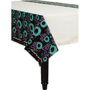 Amscan BB103481 The Party Continues 40Th Birthday Plastic Table Cover
