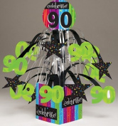 Milestone Celebrations 90th Birthday Mini Cascade Centrepiece