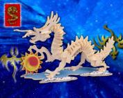 Dragon 3D Woodcraft Construction Kit, Small
