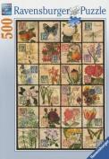 Ravensburger Vintage Flora 500pc Jigsaw Puzzle