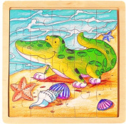 Puzzled 2153 Jigsaw Alligator Wooden Toys