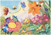 . Bugs Glitter Glue Puzzle