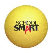 School Smart Playground Ball - 13cm  - Yellow