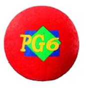 DICK MARTIN SPORTS MASPG6R PLAYGROUND BALL RED 6 INCH-2 PLY