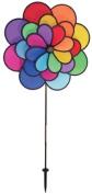 In The Breeze 24-Petal Triple Wheel Flower Garden Spinner