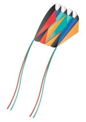 Skyfoil™ Frameless Parafoil Kite: Prism by X-Kites
