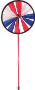 In The Breeze Patriot 20cm Single Wheel Garden Spinner