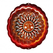Next Innovations EMSUNARD/CO PB Red and Copper Sun Face Eycatcher, Medium