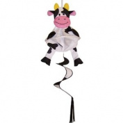 In the Breeze Bessie the Cow Spin Friend 3D Windsock