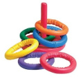 Sportime Soff-Ring Toss Game - Set of 6 Rings - Assorted Colours