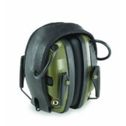 Howard Leight Impact Sport Earmuff Green Electronic Folding