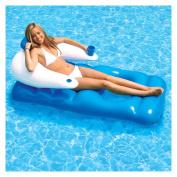 Poolmaster Blue Classic Floating Pool Loun.