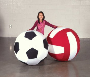 Sportime Giant Soccer Ball with Washable Cover - 100cm