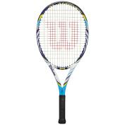 Wilson 2012 Juice 60cm BLX Junior Tennis Racquet - Light Blue/White/Navy