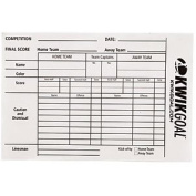 KwikGoal Referee Score Sheet