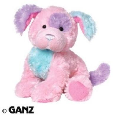 Webkinz Plush Stuffed Animal Cotton Candy Puppy