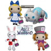 Funko Alice in Wonderland Plushies:Set of 4