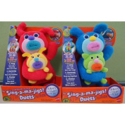 Mattel The Sing-A-Ma-Jigs Duets - Royal Blue with Kitten