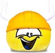 Disney Club Penguin 10cm Yellow Pet Puffle with Viking Hat