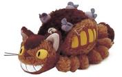 Studio Ghibli My Neighbour Totoro 20cm Cat Bus Plush Toy w/ Grey