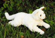 White Cat Puppet 46cm by Sunny and Co