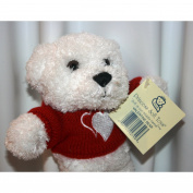 Stuffed Love Bear with Heart Sweater