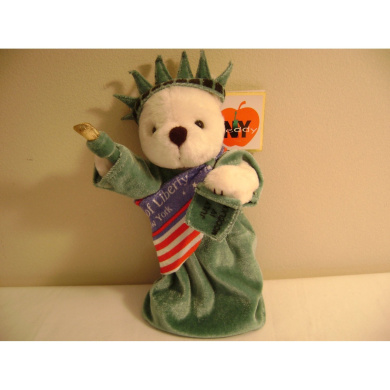 THE STATUE OF LIBERTY TEDDY
