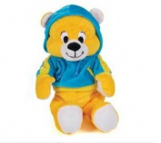 28cm Texting Plush Bear [ Blue Outfit ]