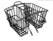 Wald 535 Rear Twin Bicycle Carrier Basket