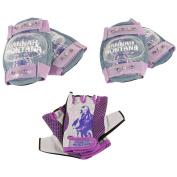 Hannah Montana Bicycle Pad & Glove Set