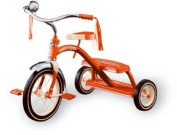 Classic Red Dual Deck Tricycle 12