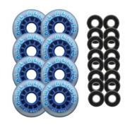 BLUE BELLYS 76mm 78a Roller Inline Skate Wheels ABEC 5s