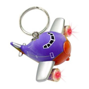 Daron Worldwide Trading TT83084 Southwest Aeroplane Keychain with Light and Sound