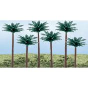 "Woodland Scenics Palm Trees, 6 per pkg, 3""-13cm"