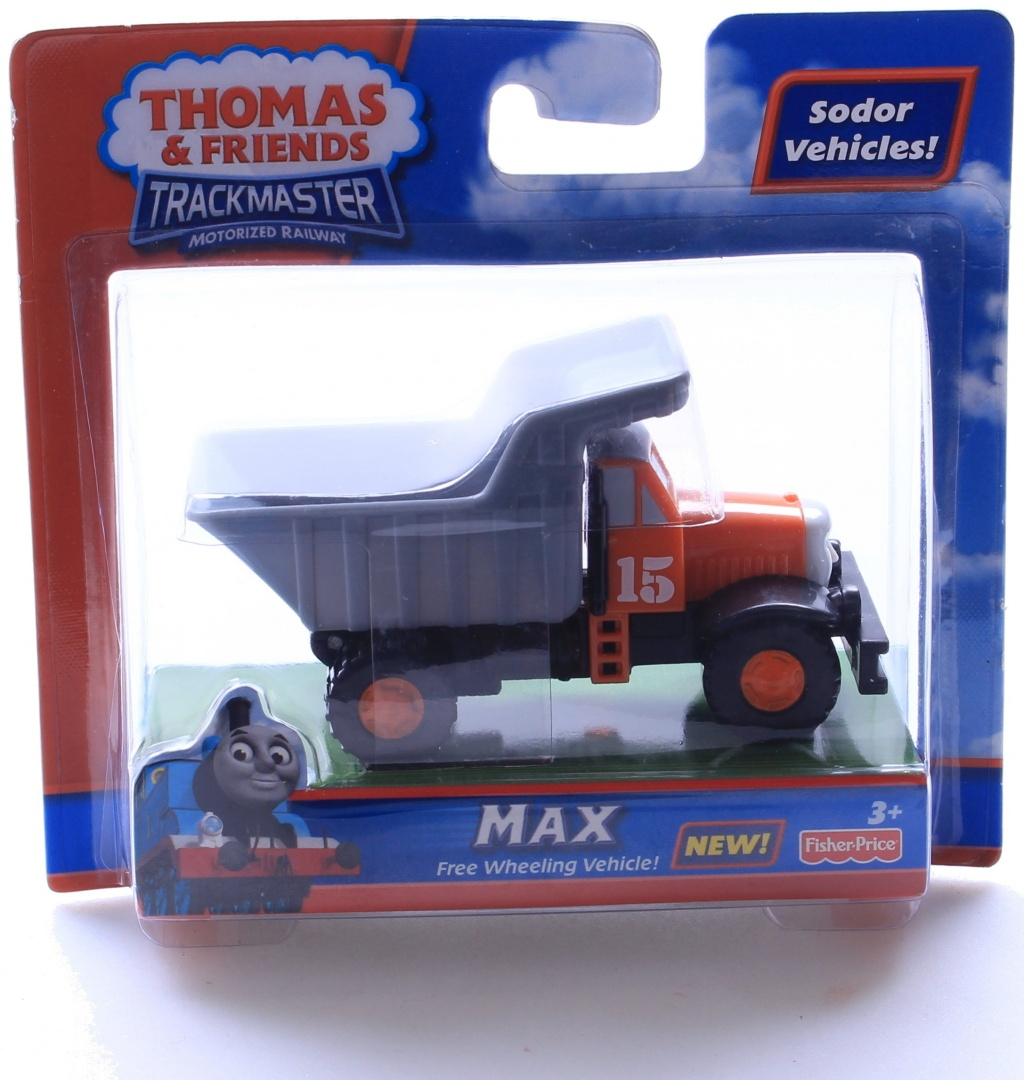Thomas Friends Trackmaster Max Construction Vehicle
