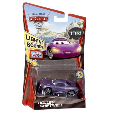 Cars 2 1:55 Lights And Sounds Holley Shiftwell Vehicle